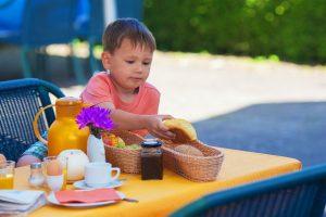 L'alimentazione del bambino in età scolare