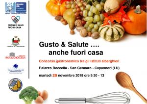 """""""GUSTO&SALUTE… anche fuori casa"""": concorso gastronomico tra ragazzi degli istituti alberghieri"""