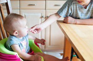 La prevenzione del rischio soffocamento da cibo nel bambino